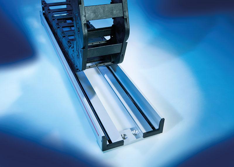 Canale de ghidare lant portcablu se imbina si aliniaza simplu, fara a fi necesare insurubarea sau sudarea acestora. Noiseless Nivel redus de zgomot