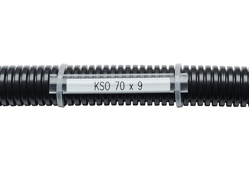 Etichete copex, tuburi flexibile Etichetam orice tip de fir si cablu, indiferent de dimensiune. Etichete din policarbonat, polietilena, polipropilena, poliester