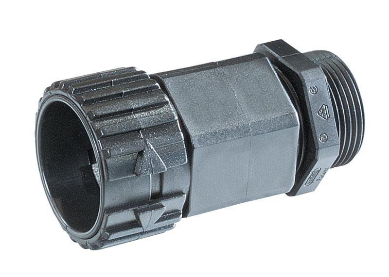 Fitting, racord, conector - Pur si simplu impingeti in tubul flexibil si ati realizat conexiunea.