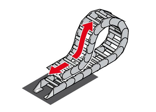 Lant port cablu glisare pe el. Lant energetic care gliseaza, reduceti uzura prin papucii de glisare