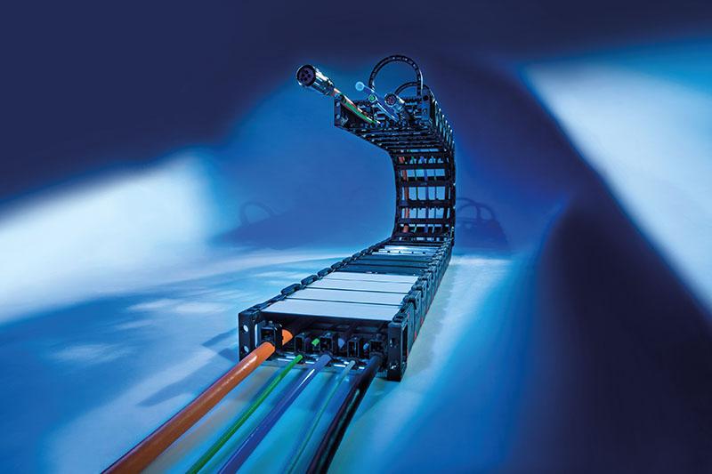 Lanturi portcablu energetice Murrplastik fabricate in Germania. Utilizare in aproape toate industriile si sectoarele
