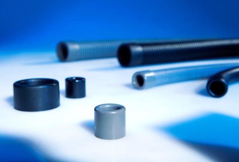 Mansoanele de capat pentru tuburile flexibile de protectie, tuburi gofrate, tuburi ondulate, copexuri. Murrplastik