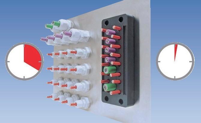 Reduceti dimensiunea si costul tablourilor electrice - Treceri Murrplastik