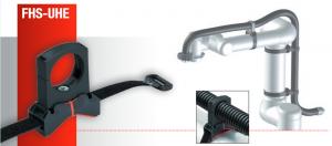 Suporti robotici FHS-UHE banda velcro cu dimensiuni pana la 750 mm, acoperite cu strat special anti-alunecare. Fixare sigura chiar si pe suprafete conice
