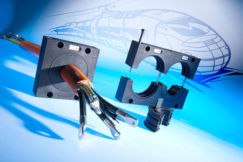 Trecere pentru cabluri cu conector cu diametrul de pana la 65 mm -Murrplastik