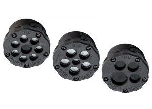 Treceri rotunde pentru cabluri fara conector. Instalare rapida si usoara a cablurilor fara conector si a furtunurilor pneumatice