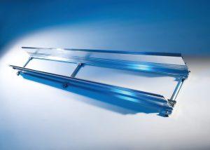 Varianta de aluminiu, otel si inox. Proiectarea sistemelor are la baza dezvoltarea unor profile care sa se potriveasca cu lanturile portcablu Murrplastik