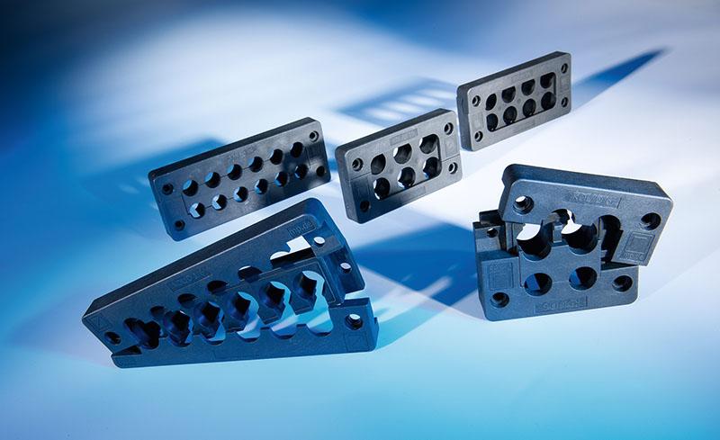 Variantele de treceri KDL_D KDL_C Murrplastik  pentru cabluri cu conector, preasamblate, mufate