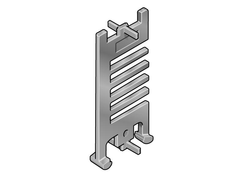 multitudini de combinatii posibile, sistemul de separatoare este ideal de pus in orice aplicatie, instalare usoara