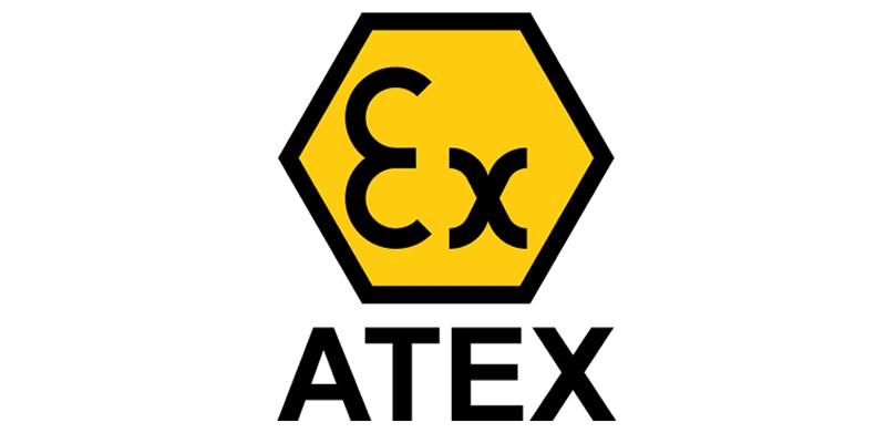 ATEX - Zona Ex - medii de lucru cu potential exploziv. Pericol. Logo. Simbol