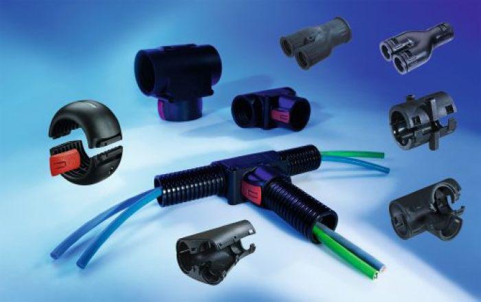 Accesorii, cuplare, distribuitoare, racorduri, conectori tuburi flexibile de protectie si copex