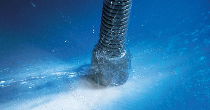 Capacul de capat este proiectat ca un dispozitiv de protectie a marginilor, asftel incat cablurile iesite sa nu poata fi deteriorate.