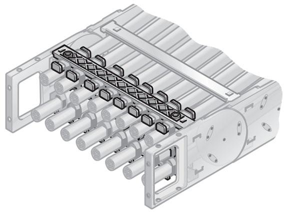 Detensionarea cablurilor potrivita pt fiecare sistem. Fixarea cablurilor in sisteme de lanturi portcablu energetice. prindere cu coliere de plastic