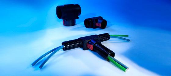 Distribuire, cuplare tub flexibil, gofrat, riflat, copex. Cot la diferite grade, 90 etc