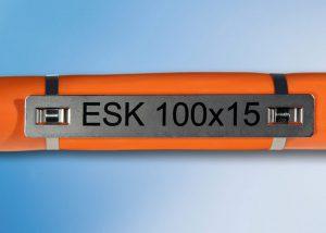 Etichete din inox pentru cabluri. marcajul prin laser. calitate germana la un pret avantajos. Murrplastik
