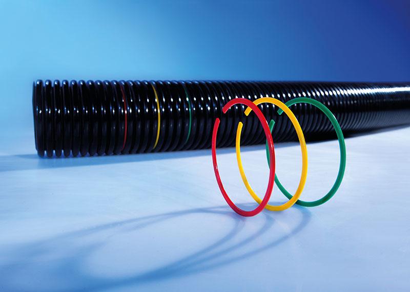 Indicatoare de pozitie industria robotica pentru tuburi flexibile copex. Aplicatii inginerie mecanica. Disponibil in culori diferite