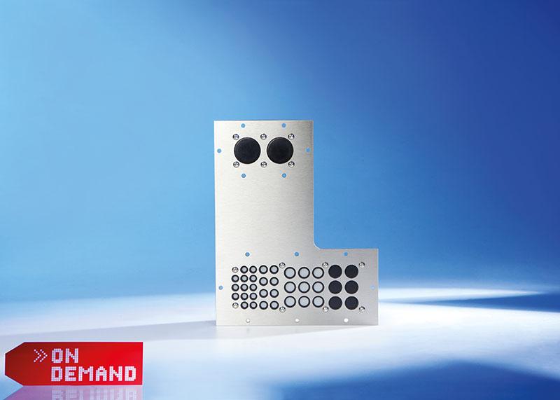 KDH placa de tranzit cabluri Murrplastik forma personalizata