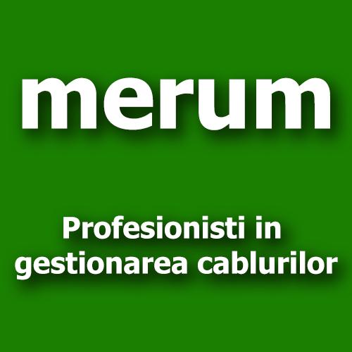 Merum - Profesionisti in gestionarea cablurilor - logo