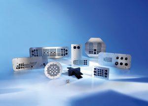 Placi de trecere a cablurilor personalizate din otel inoxidabil sau aluminiu
