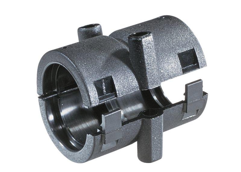 Racorduri pentru cuplare tub flexibil, tub gofrat, tub riflat, copex. Usor de asamblat. Poate fi insurubat. Fara halogen, fosfor si cadmiu.