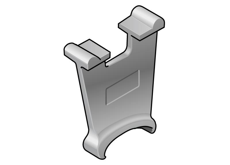 Separator lant portcablu, reduce uzura la frecaer a cablurilor, tuburilor flexibile, furtunurilor etc. Se instaleaza in interiorul lanturilor energetice
