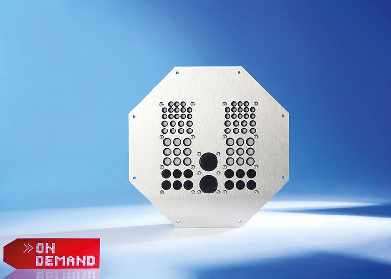 Trecere octogonala pentru tranzitarea cablurilor Murrplastik personalizat