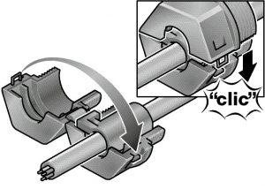 Trecere rotunda pentru cabluri cu mufe, cabluri cu conector, cabluri preasamblate KDL_D_MONO Murrplastik