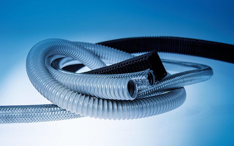 Tuburi cu forme si proprietati speciale Murrplastik. Tub metalic, tub dreptunghiular, tub tesut, tub impletit
